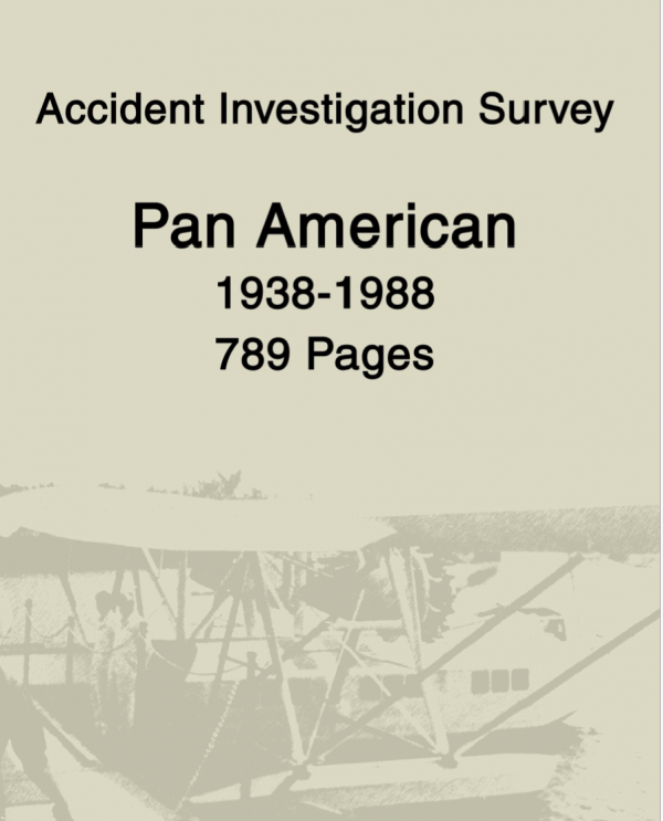 Pan American Airways Accident Reports