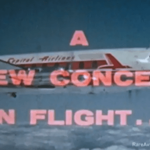 Capital Airlines Vickers Viscount a New Concept in Flight